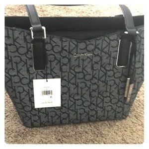 Calvin Klein logo handbag
